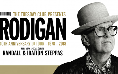 Friday 23rd March: David Rodigan – 40th Anniversary Tour