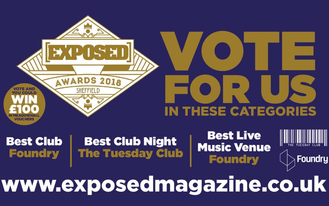 Vote for us in the Exposed Awards!